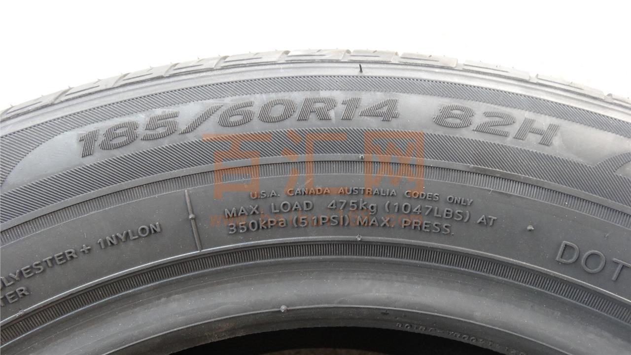小车真空轮胎 品牌:韩泰 型号:185/60r14 82h k415 货品规格 轮胎花纹
